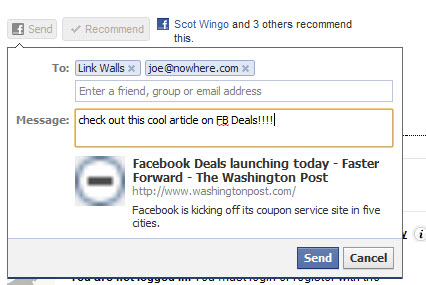 What does the new Facebook Send button mean for retailers