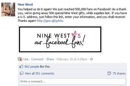 Nine West FB Pic